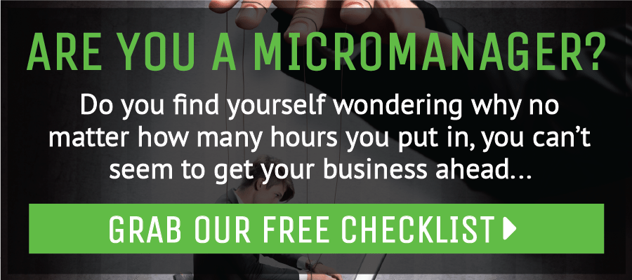 are you a micromanager